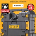 Tool Nut Dewalt TStak Radio Deal October 2018