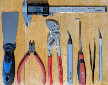 3D printing tool lineup