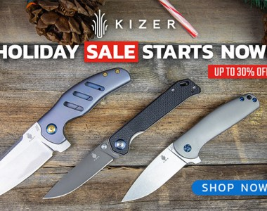BladeHQ Kizer Knife Sale Black Friday Week 2018