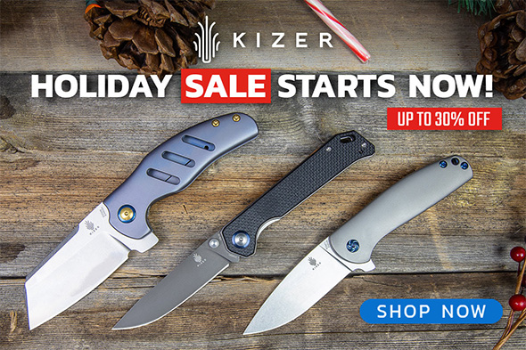 BladeHQ Kizer Knife Sale Black Friday Week 2018