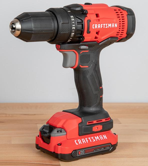 Craftsman V20 Cordless Drill Driver CMCD700
