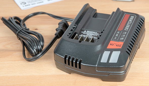 Craftsman V20 Cordless Drill Driver Kit CMCD700C1 Battery Charger