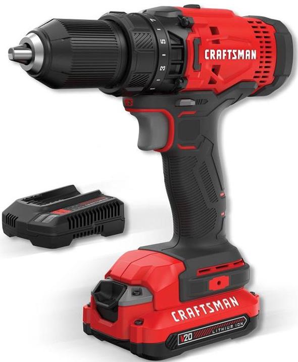 Craftsman V20 Cordless Drill Kit CMCD700C1 Black Friday 2018 Deal