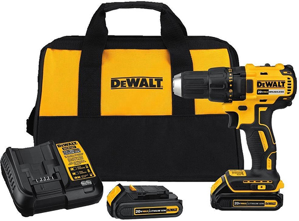 Dewalt DCD777C2 20V Max Brushless Drill Kit