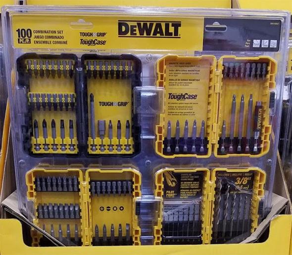Dewalt ToughGrip 46pc Screwdriver Bit Set