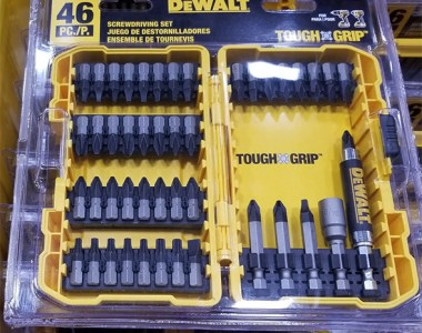 Dewalt ToughGrip 46pc Screwdriver Bit Set