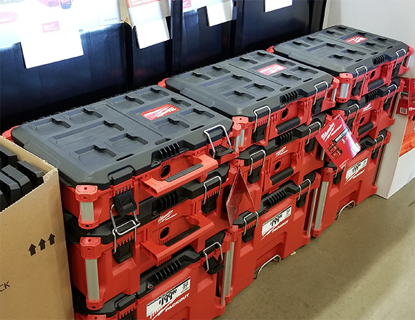 Home Depot Pro Black Friday 2018 Tool Deals Milwaukee Packout Tool Box Combos