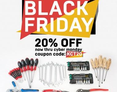 KC Tool Black Friday 2018 20 Percent Coupon