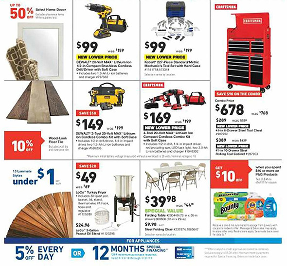 Lowes Pre Black Friday 2018 Tool Deals Page 2
