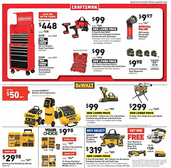 Lowes Pre Black Friday 2018 Tool Deals Page 4