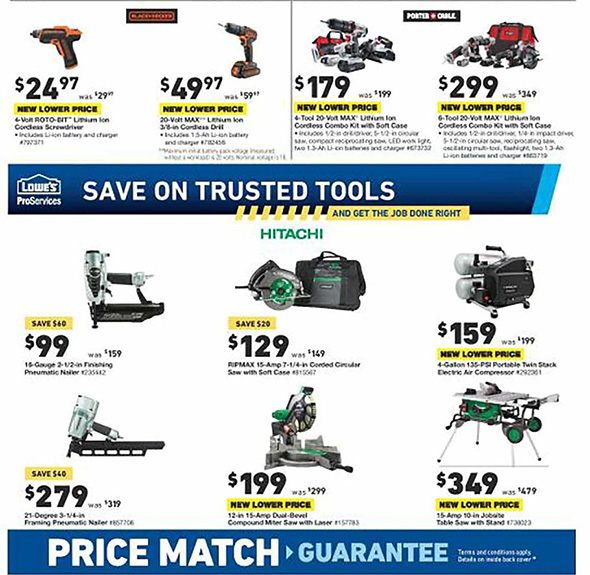 Lowes Pre Black Friday 2018 Tool Deals Page 5