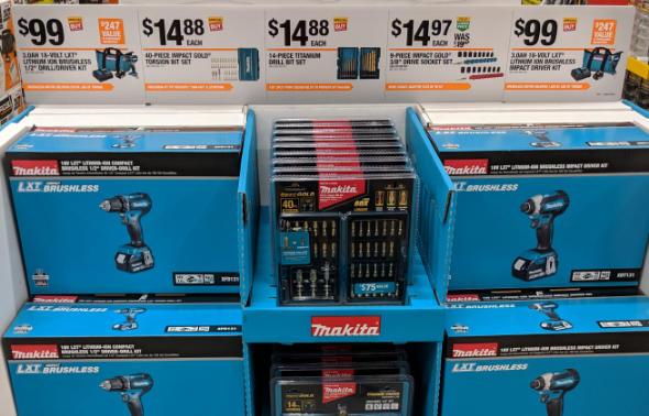 Makita Cordless Tools Special Buy at Home Depot 2018