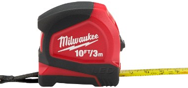 Milwaukee 10 Foot Key chain Tape with LED Product Shot