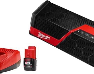 Milwaukee Cordless Bluetooth Speaker Kit Black Friday 2018 Special Buy