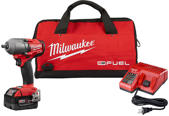 Milwaukee M18 Fuel Mid-Torque Impact Wrench Kit