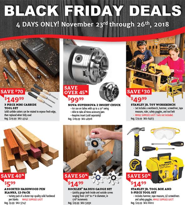 Rockler Black Friday 2018 Tool Deals Page 3