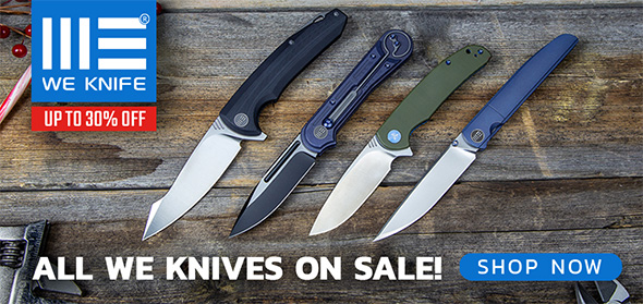 We Knives Sale Black Friday 2018 Week