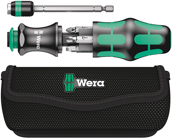 Wera Kraftform Kompakt Screwdriver EDC Set