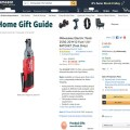 Amazon Milwaukee Ratchet Listing