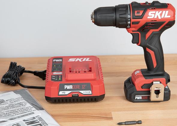 Skil PWRCore 12 Brushless Drill Kit