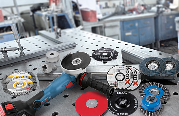 Bosch Grinder X-Lock Product Family