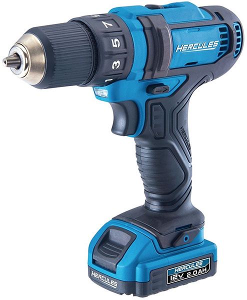 Harbor Freight Hercules 12V Cordless Drill Driver