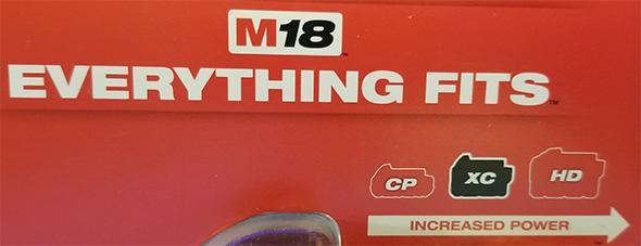Milwaukee M18 Everything Fits Marketing