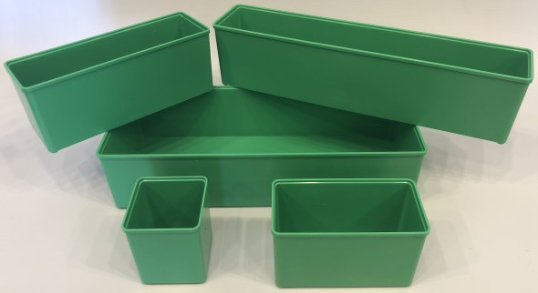 Auer Packaging Assortment Boxes - Insertable Bins