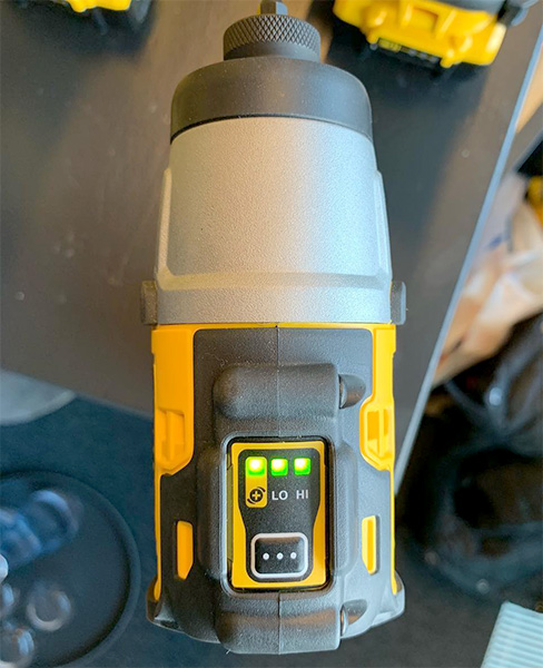 Dewalt 12V Brushless Cordless Impact Driver Speed Settings EU Release