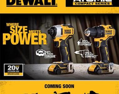 Dewalt Atomic 20V Max Compact Brushless Cordless Power Tools