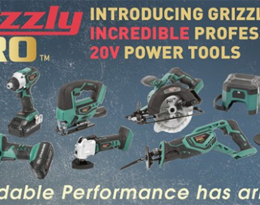 Grizzly Pro 20V Cordless Power Tools
