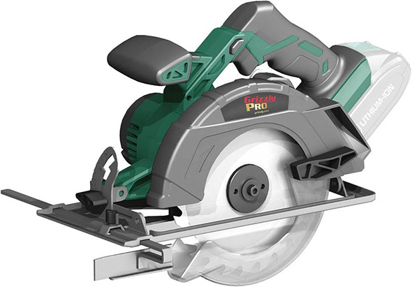 Grizzly Pro Cordless Circular Saw