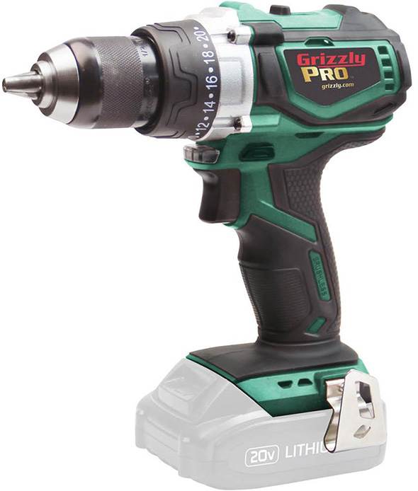 Grizzly Pro Cordless Hammer Drill