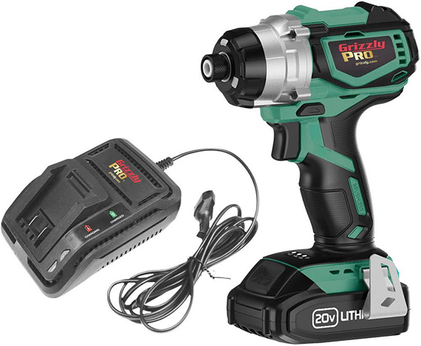 Grizzly Pro Cordless Impact Driver