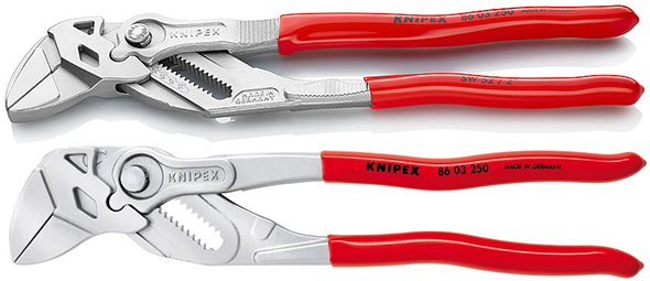 Knipex Pliers Wrench New vs Old Style