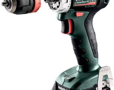 Metabo 12V Cordless Drill with Quick Chuck