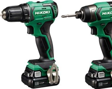 New Hikoki Metabo HPT 12V Max Cordless Power Tools
