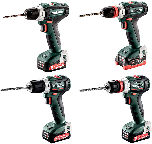 New Metabo 12V Max Cordless Drills and Drivers