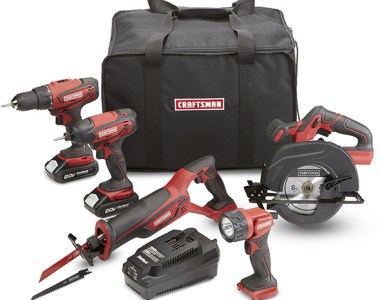 Sears Craftsman 20V Cordless Power Tool Combo Kit