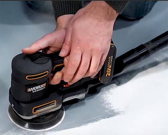 Worx 20V Multi-Sander WX820L Vacuum Hose Attachment