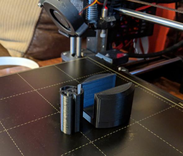 3D Printed Platform Saddles