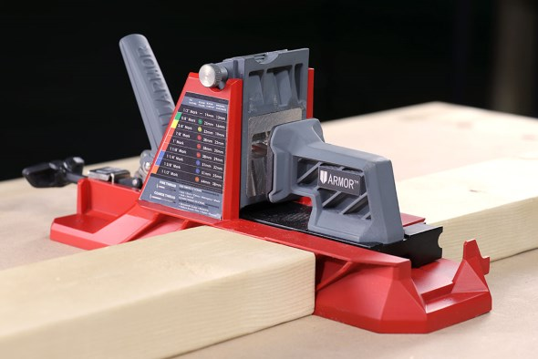 Armor Tools Pocket Hole Jig - Height of a 2x4