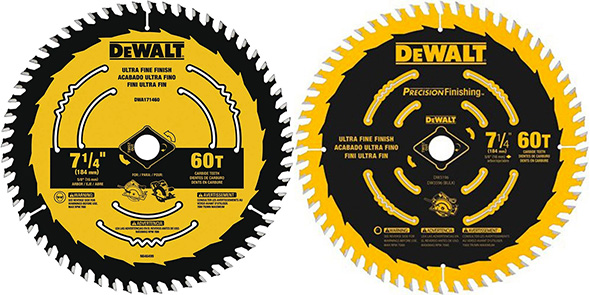 Dewalt Circular Saw Blade Comparison