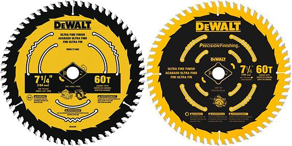 Dewalt Circular Saw Blade Comparison