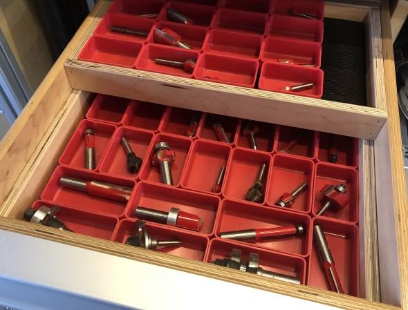 Organizing my Modular Tool Cabinet Drawers - Drawers in Drawers