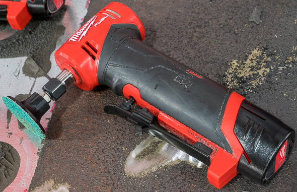 Milwaukee M12 Fuel Right Angle Die Grinder