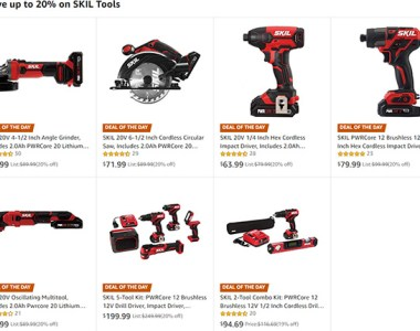 SKil Cordless Power Tool Deal 6-1-2019