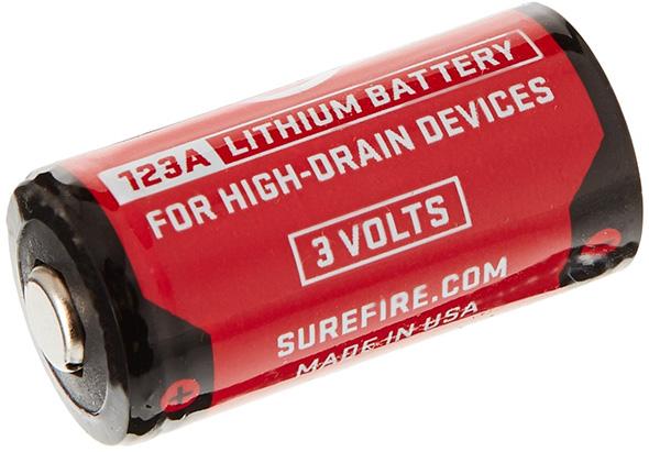 Surefire CR123A Lithium Battery