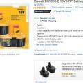 Amazon Dewalt Battery on-Page Advertisement 3