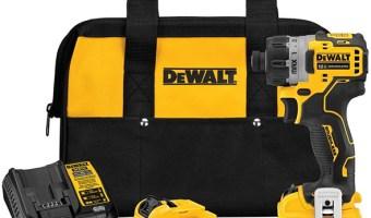 Dewalt Xtreme SubCompact Cordless Screwdriver Kit DCF601F2